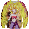 Super Saiyan Caulifla Sweatshirt - Dragon Ball Super Clothing - Hoodie Now