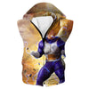 Super Saiyan Vegeta Hooded Tank - Dragon Ball Z Hoodies and Clothing