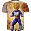 Super Saiyan Vegeta T-Shirt - Dragon Ball Z Hoodies and Clothing - Hoodie Now