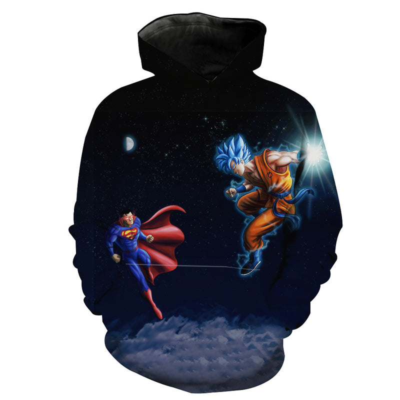 66167b57 Rick and Morty x Dragon Ball Hoodie - Crossover Hoodie – Hoodie Now