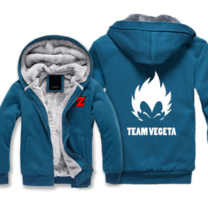 Team Vegeta Jacket - Dragon Ball Fleece Jackets - Hoodie Now