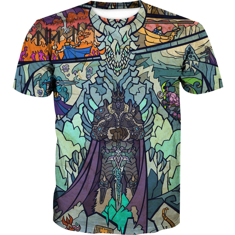e9398fe4fe6c Epic WoW Lich King T-Shirt - World of Warcraft Clothes – Hoodie Now