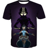 Aang and korra shirt