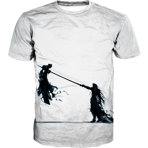 Cloud and Sephiroth Shirt