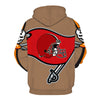 Tampa Bay Buccaneers 3D Hoodie Pullover - NFL Football Hoodies