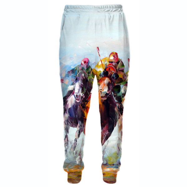 Thoroughbred Horse Sweatpants - Triple Crown Clothing - Hoodie Now
