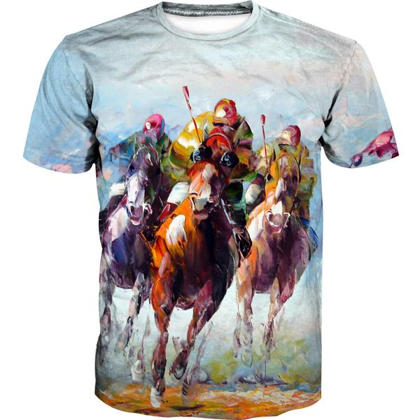 Thoroughbred Horse T-Shirt - Triple Crown Clothing - Hoodie Now