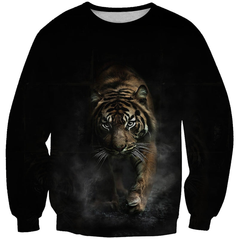 Crouching Tiger Sweatshirt - Tiger Clothing
