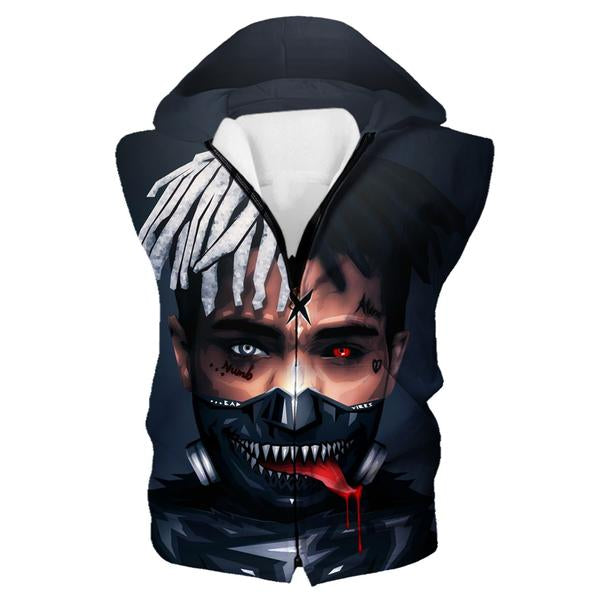 Tokyo Ghoul XXXTentacion Hooded Tank - Tokyo Ghoul Clothes