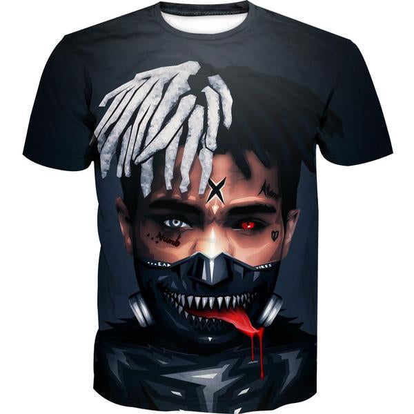 Tokyo Ghoul XXXTentacion T-Shirt - Tokyo Ghoul Clothes - Hoodie Now