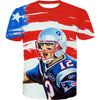 American Tom Brady T-Shirt - Tom Brady Clothing - Football