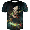 Ultra Instinct Goku Black T-Shirt - Dragon Ball Super Clothes
