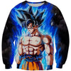 Ultra Instinct Goku Dragon Ball Super Sweatshirt - DBZ Clothes