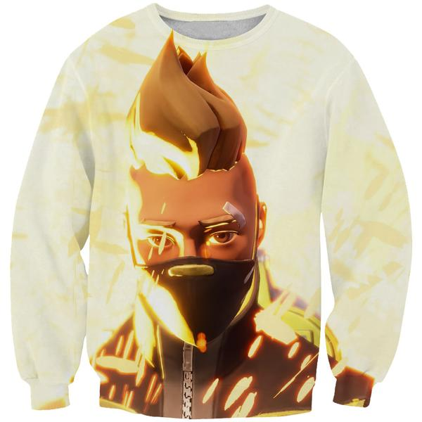 Unmasked Drift Sweatshirt -Fortnite Clothing