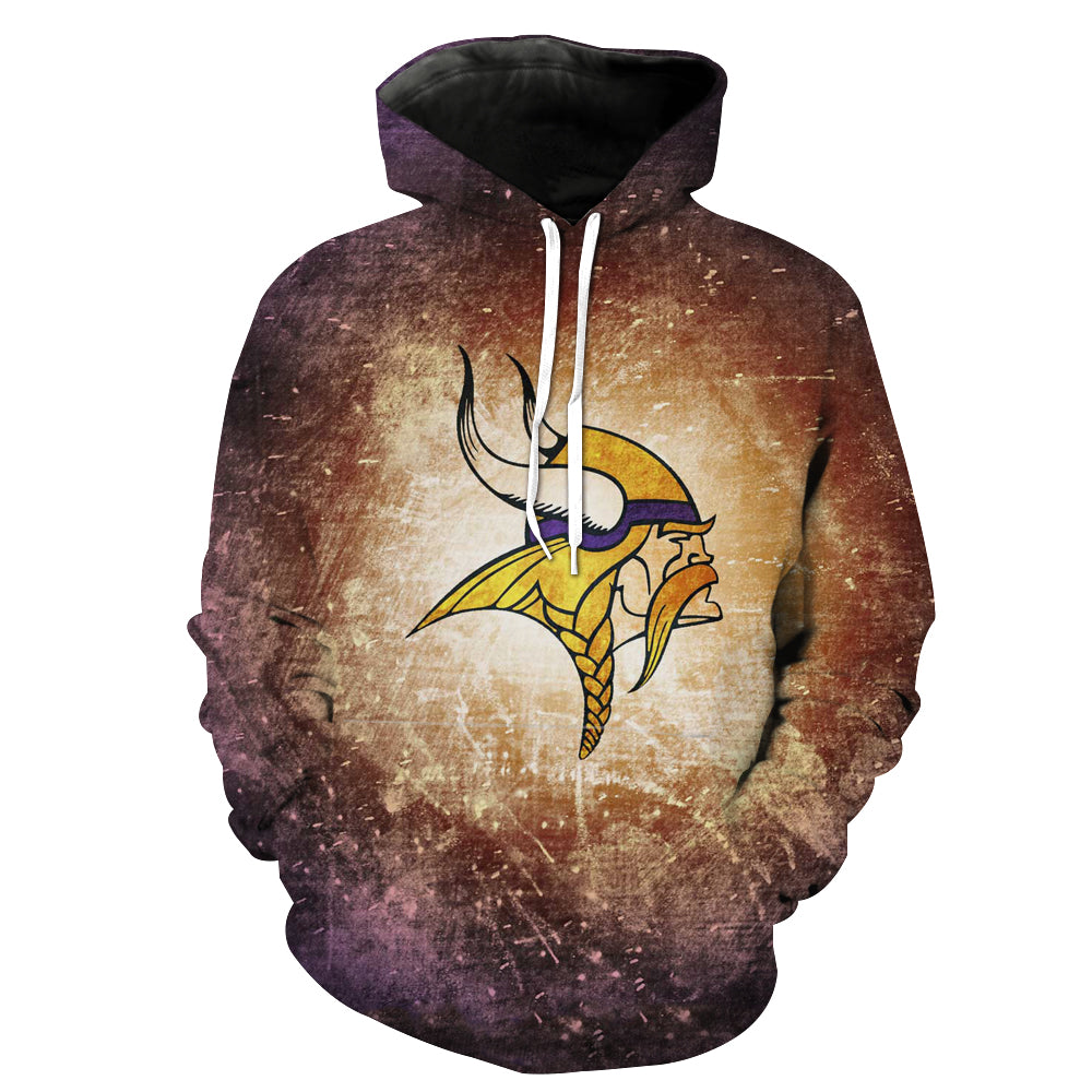 Minnesota Vikings Hoodie - Football Vikings Clothing