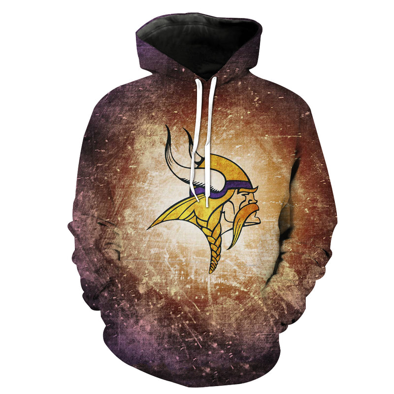 Minnesota Vikings Hoodie - Football Vikings Clothing - Hoodie Now