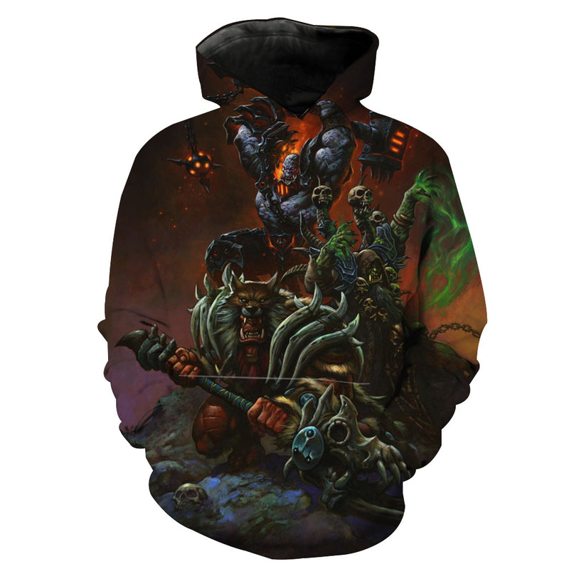 Warcraft Hoodie - Epic WoW Clothing - Hoodie Now