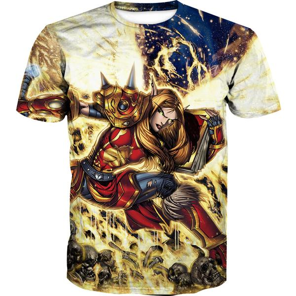 World of Warcraft Paladin T-Shirt - WoW Clothes