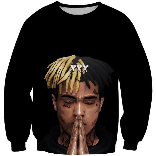 XXXTentacion Sweatshirt - Hip Hop Rap Clothes - Hoodie Now