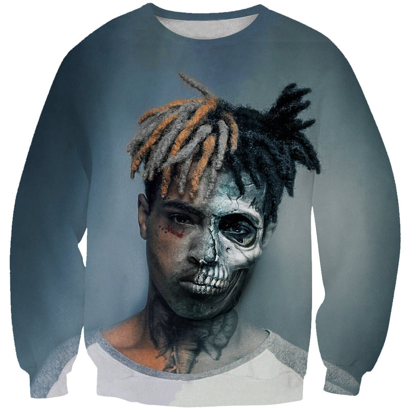 Zombie XXXTentacion Sweatshirt - Hip Hop Rap Clothes - Hoodie Now