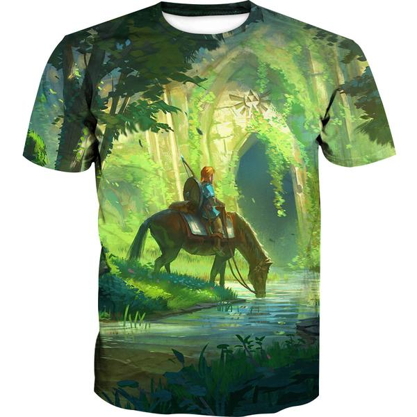 Zelda T-Shirt - Link T-Shirt - Legend of