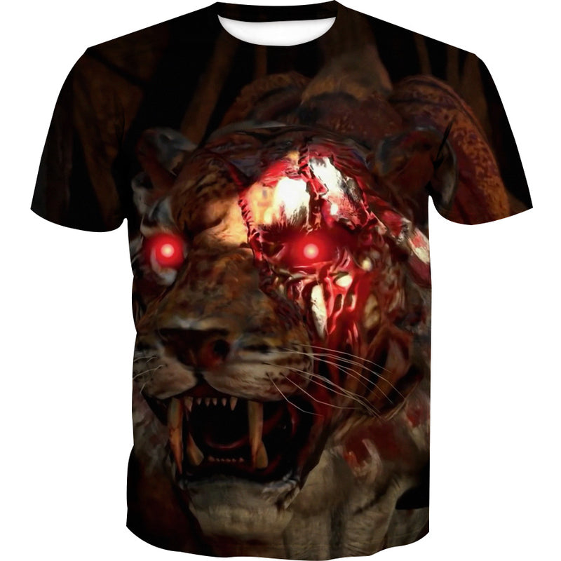 Call of Duty Blackout T-Shirt - Zombie Tiger Clothes