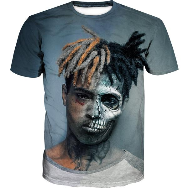 Zombie XXXTentacion T-Shirt - Hip Hop Rap Clothes