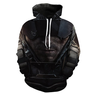 Call of Duty Hoodie - Black Ops 4 Blackout Clothes