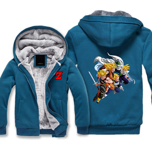 Z Warriors Fleece Jacket - Dragon Ball Jackets