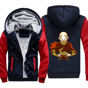 Avatar the last Airbender Jacket - Aang Fleece Jacket