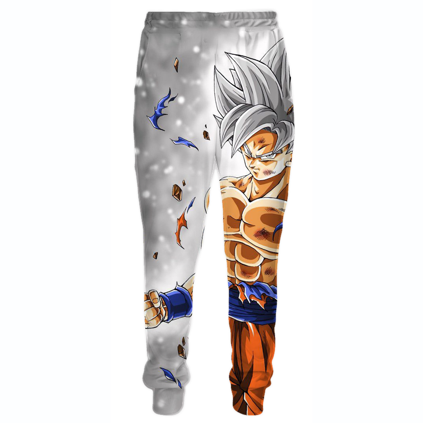 Dragon Ball Pants - Ultra Instinct Goku Sweatpants Clothing - Hoodie Now