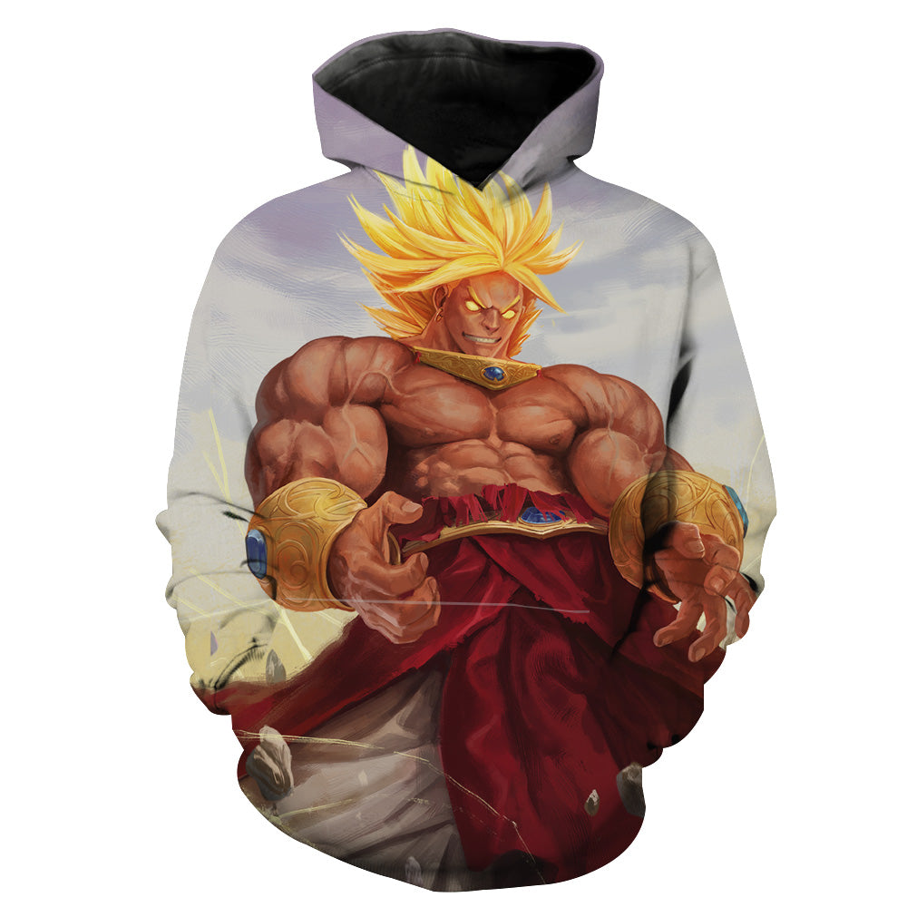 Broly Hoodie - Dragon Ball Super Broly Clothes