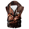 Classic Kratos Hooded Tank - God of War Clothes