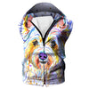 Colorful Dog Hoodie - Dog Printed Clothing - Hoodie Now