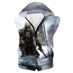 Assassins Creed American Flag Tank Top - Assassin's Creed Odyssey Clothes