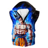 Ultra Instinct Goku Dragon Ball Super Hoodie - DBZ Clothes - Hoodie Now