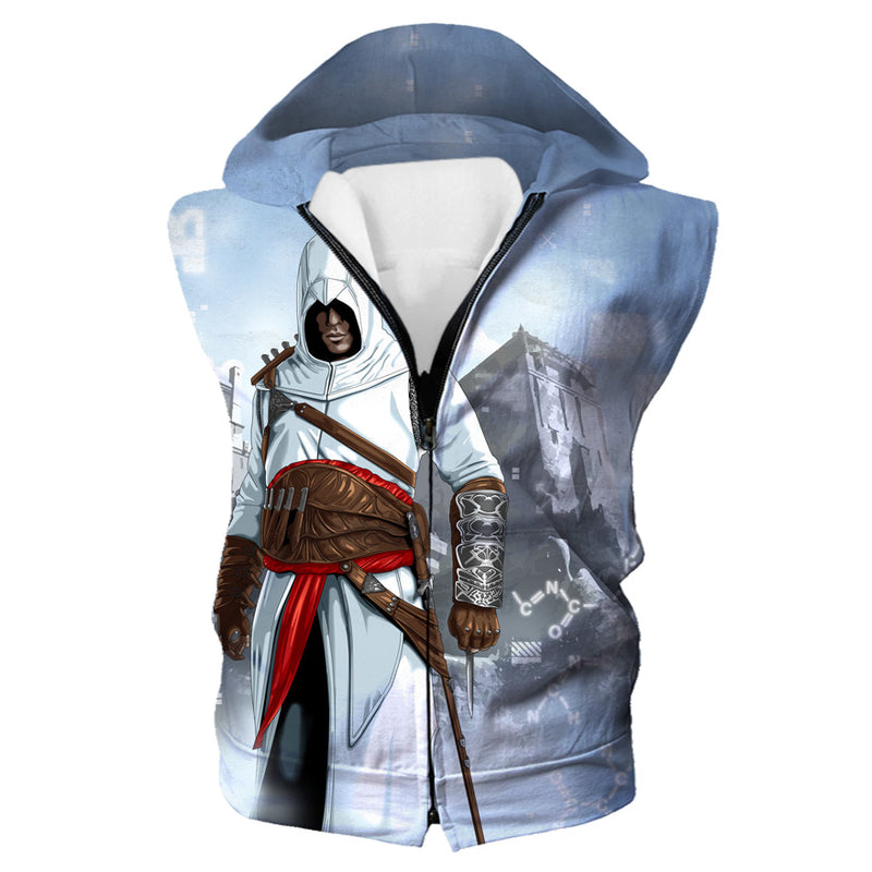 Assassin's Creed Clothing - Desmond Miles Hooded Tank