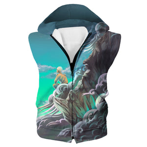 Avatar the Last Airbender Clothing - Water Color Aang Hoodie