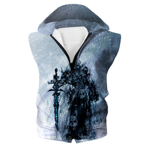 Lich King Arthas Hoodie - World of Warcraft Clothes - Hoodie Now