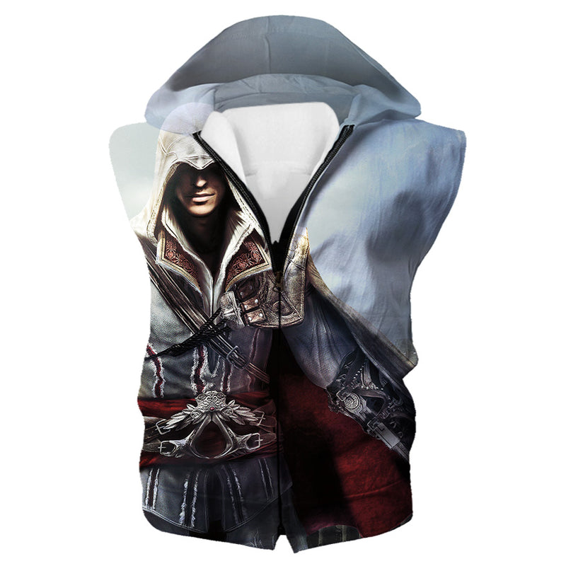 Assassin's Creed Hooded Tank - Desmond Clothing