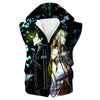 Sword Art Hooded Tank - Sword Art Online Clothing - Hoodie Now