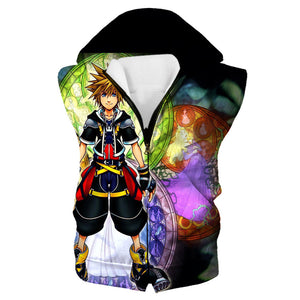Epic Sora Hooded Tank - Kingdom Hearts 3 Hoodie