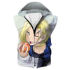 Android 18 T-Shirt - Sexy Dragon Ball Clothing