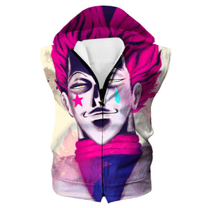 Creepy Hisoka Face Tank Top - Hunter x Hunter Clothes
