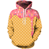 Ice Cream Dripping Hoodie - Funny Food Hoodies