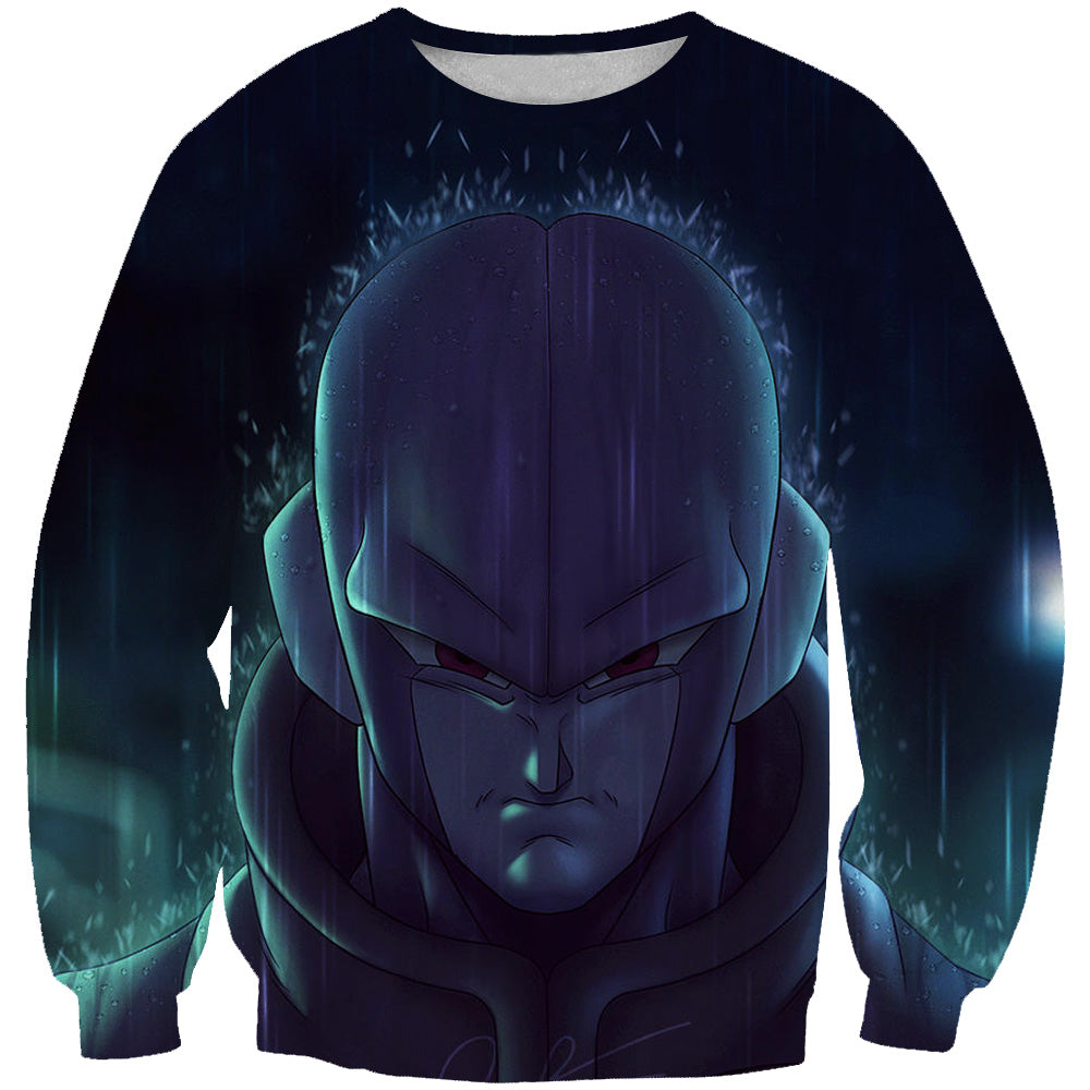 Dragon Ball Super Hit Sweatshirt - Assassin Hit DBZ Apparel