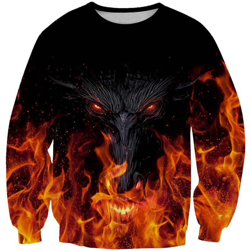 Epic Dragon Sweatshirt - Fantasy Themed Clothing