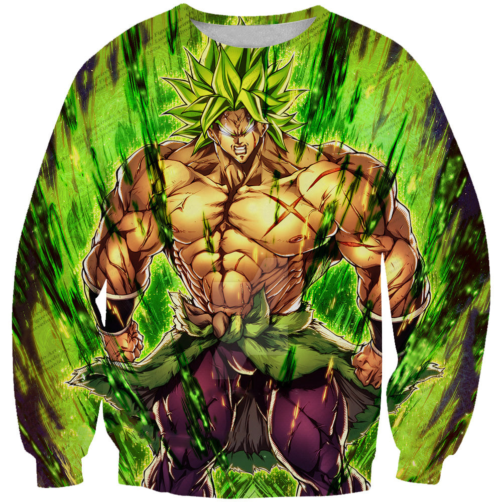 Dragon Ball Super Movie Clothing - Super Saiyan Broly Sweatshirt