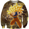 Super Saiyan 3 Goku Hoodie - Dragon Ball Z Hoodies