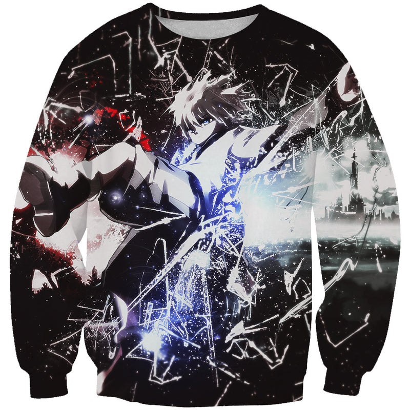 Epic Killua Sweatshirt - Killua Hunter x Hunter Clothing